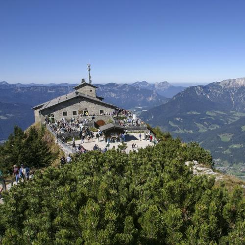 The Eagle's Nest at Obersalzberg in Berchtesgaden