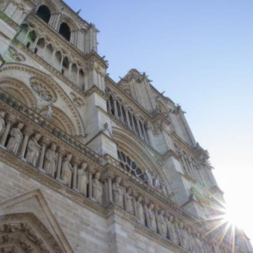 Picture of Notre Dame in Paris